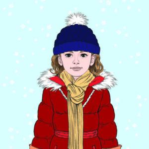 livre jeunesse lulu shabille en hiver