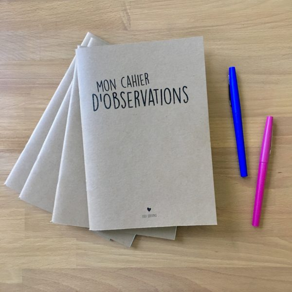 Mon Cahier d'Observations